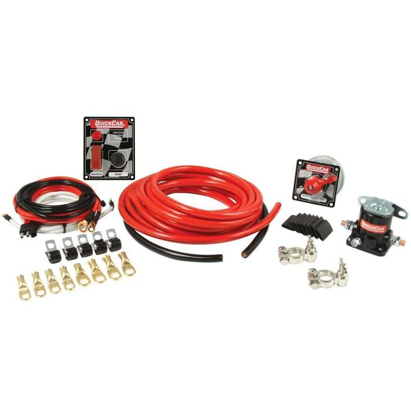 QuickCar 2 AWG Wiring Kit w/ 50-053 Switch Panel